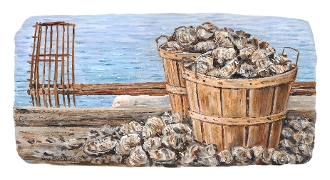 Basket of Oysters